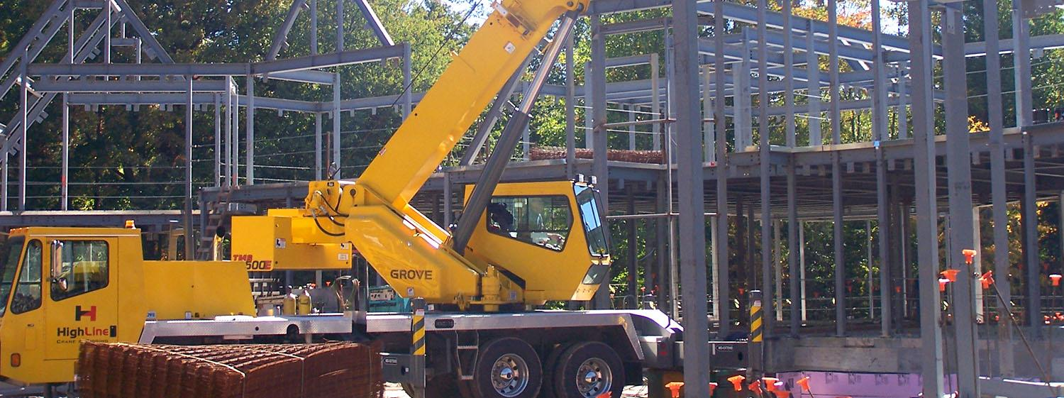Crane Rental Company in Hartford, CT